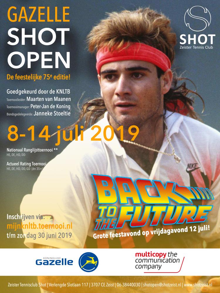 Shot Open 2019 poster